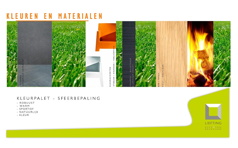 Verbouwing tc groenekan - Moderne woning buiten lay outs ...