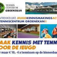 Maak kennis met Tennis voor de jeugd