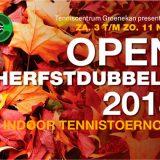 Uitslagen Open Herfstdubbels 2018